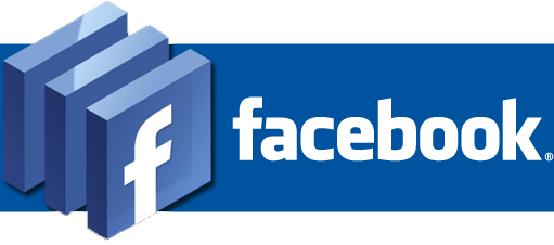 facebook-logo with black background